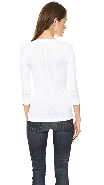 Rag & Bone/JEAN The Henley Tee