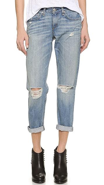 Rag & Bone/JEAN Boyfriend Jeans ...