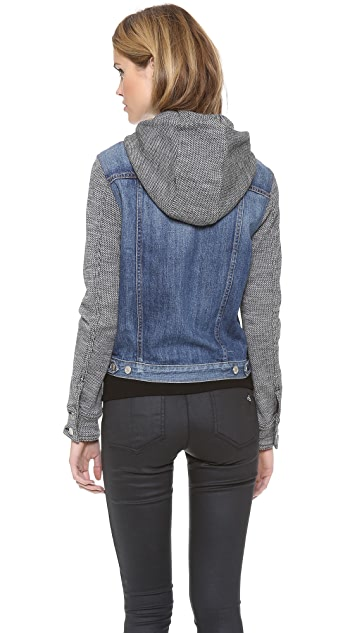 Rag & Bone/JEAN The Jean Jacket with Hood