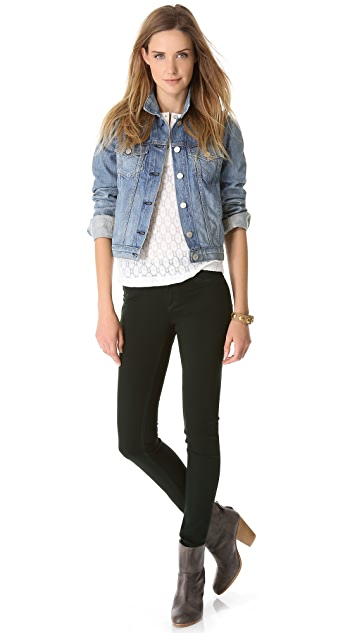 Rag & Bone/JEAN The Plush Twill Legging Jeans