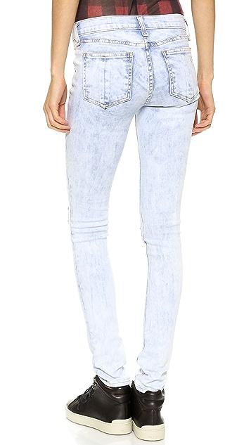 Rag & Bone/JEAN Ripped Skinny Jeans