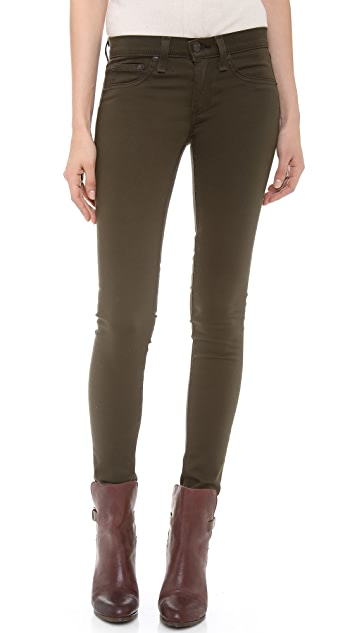 Rag & Bone/JEAN The Sateen Legging Jeans