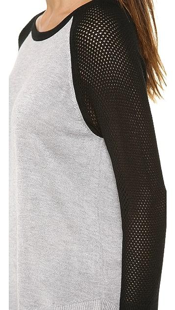 Rag & Bone/JEAN The Lexie Colorblocked Raglan Pullover