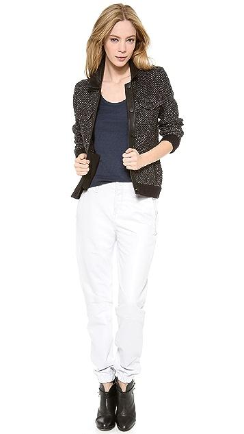Rag & Bone/JEAN The Leather Pajama Pants