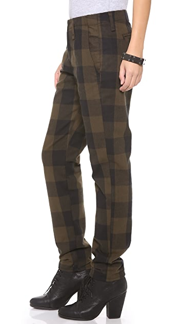 Rag & Bone/JEAN Plaid Portobello Pants