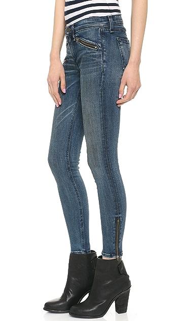 Rag & Bone/JEAN RBW 23 Crop Zipper Jeans