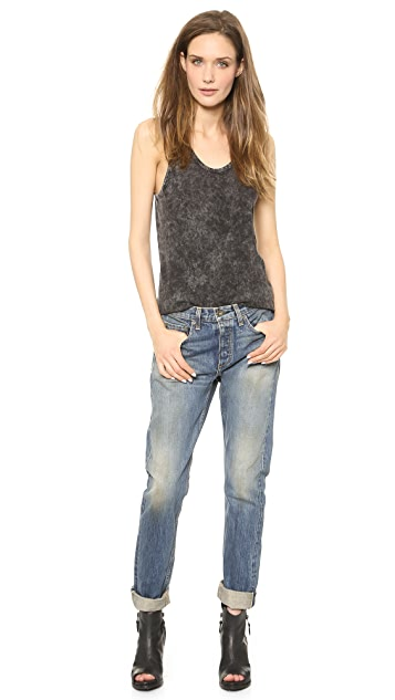 Rag & Bone/JEAN The Marilyn High Rise Rigid Jeans
