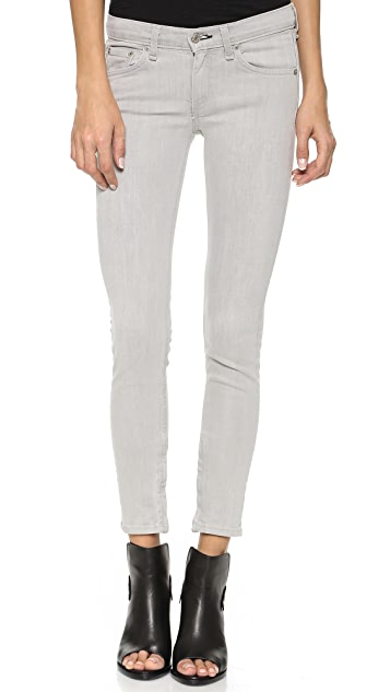 Rag & Bone/JEAN The Skinny Ankle Zip Jeans