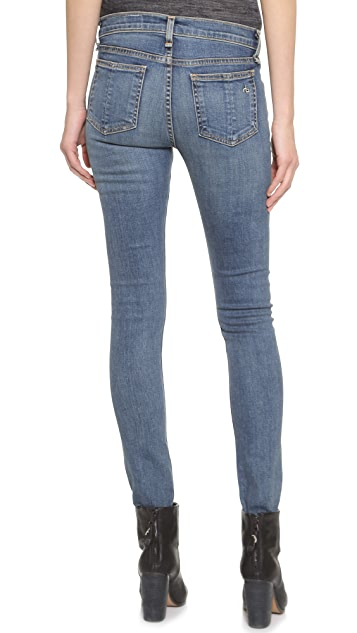Rag & Bone/JEAN The High Rise Skinny Jeans