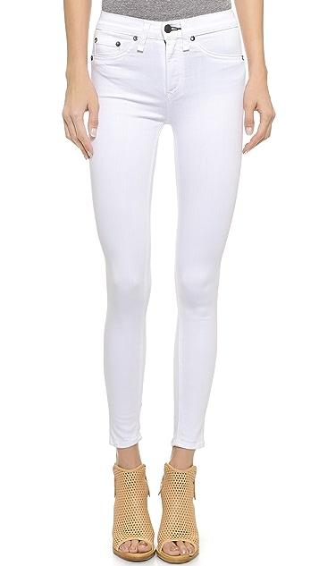 Rag & Bone/JEAN High Rise Skinny Crop Jeans