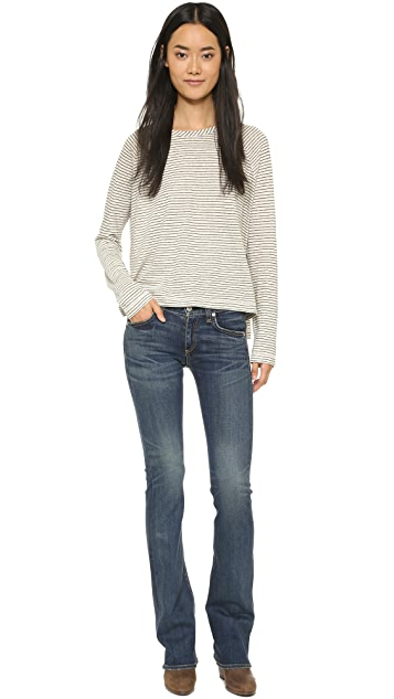Rag & Bone/JEAN Boot Cut Jeans