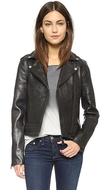7d866b7eb Chrystie Leather Jacket