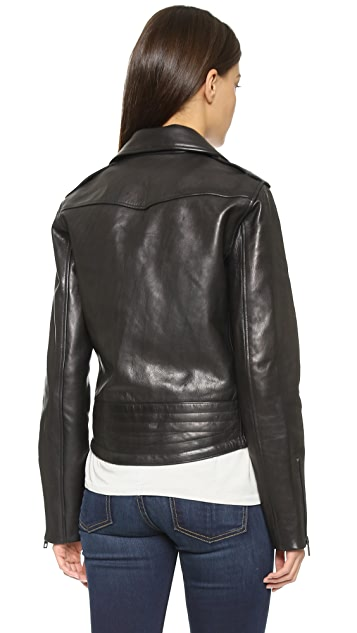 Rag & Bone/JEAN Chrystie Leather Jacket