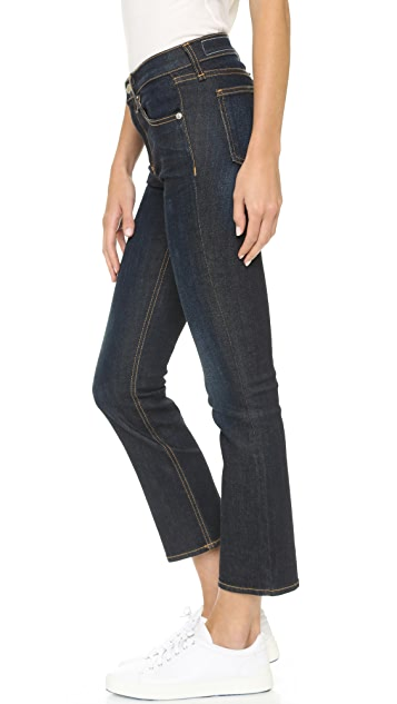 Rag & Bone/JEAN 10 Inch Crop Straight Jeans
