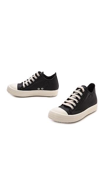 Rick Owens DRKSHDW Low Top Ramones Sneakers