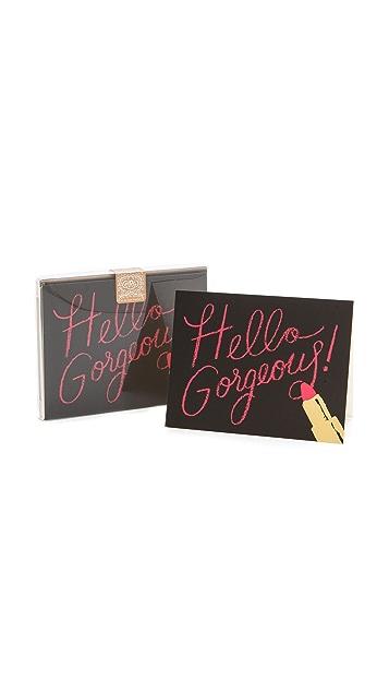Rifle Paper Co Hello Gorgeous Boxed Card Set