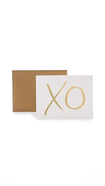 Rifle Paper Co Garance Dore XO Greeting Card Set