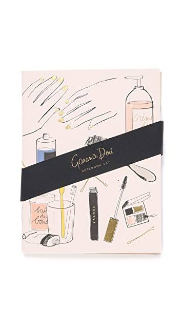 Rifle Paper Co Garance Dore Braute Pocket Notebook Set