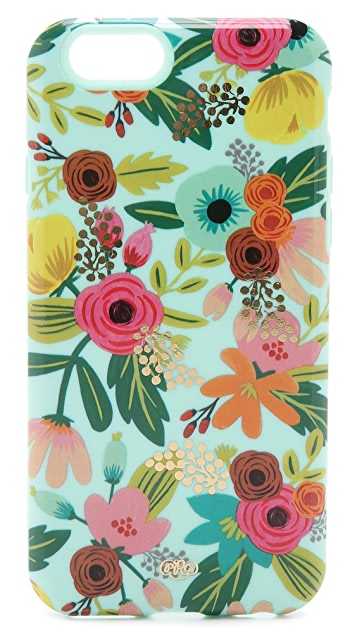 Rifle Paper Co Mint Floral iPhone 6 / 6s Case