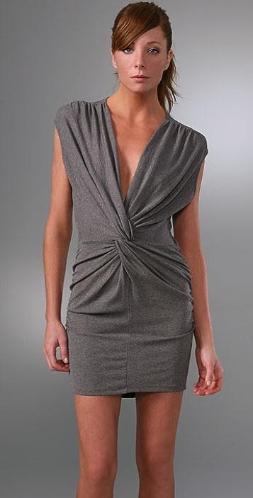 Riller & Fount Angel Twist Front Mini Dress
