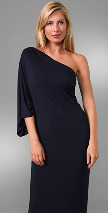 Riller & Fount Bella One Sleeve Long Dress