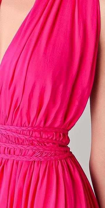 Riller & Fount Mariposa Halter Dress