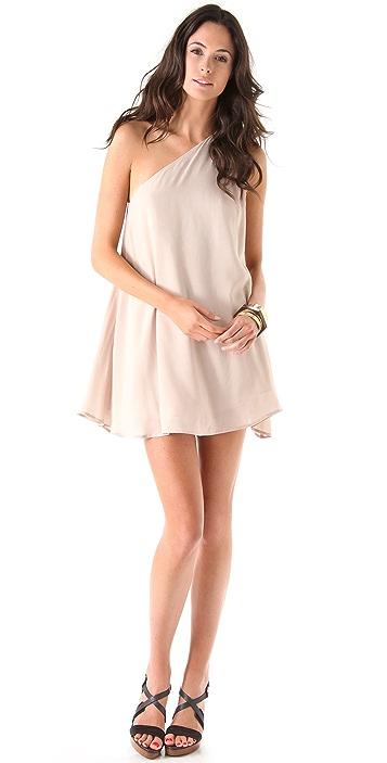 Riller & Fount Skipper One Shoulder Mini Dress