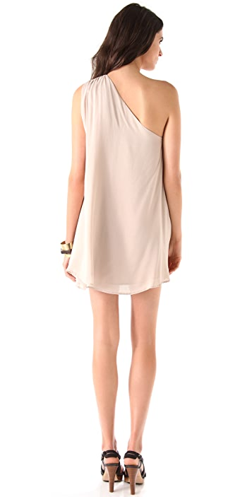 Riller & Fount Skipper One Shoulder Mini Dress