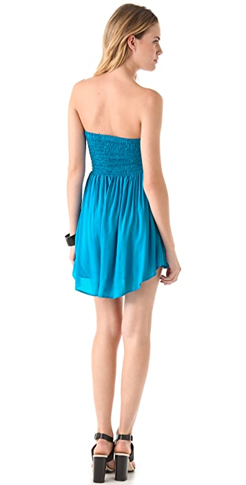 Riller & Fount Trixie Smocked Mini Dress