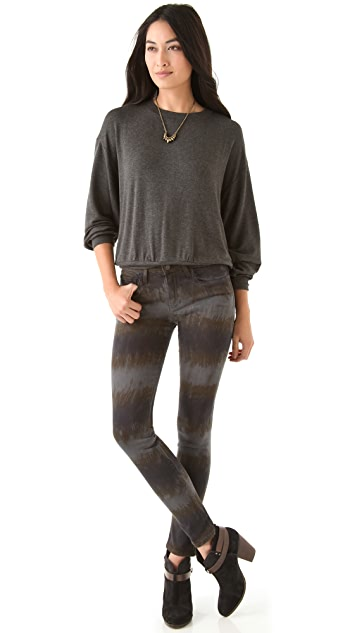Riller & Fount Brooklyn Draped Sweatshirt