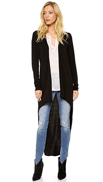 Riller & Fount Brad Hi Low Cardigan