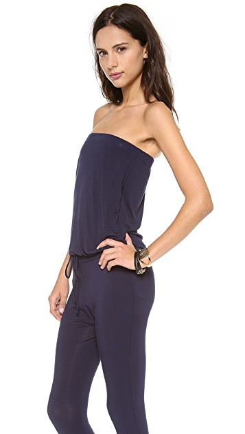 Riller & Fount Strapless Jumpsuit with Drawstring