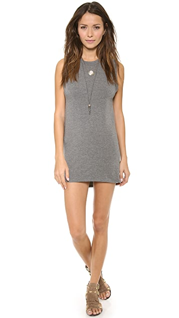 Riller & Fount Jack Open Back Mini Dress