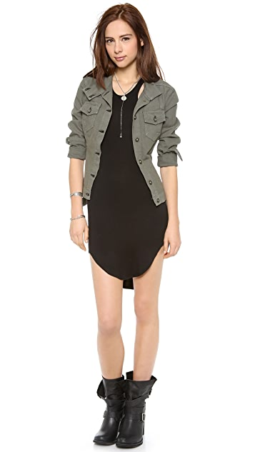 Riller & Fount Bono Racer Mini Dress
