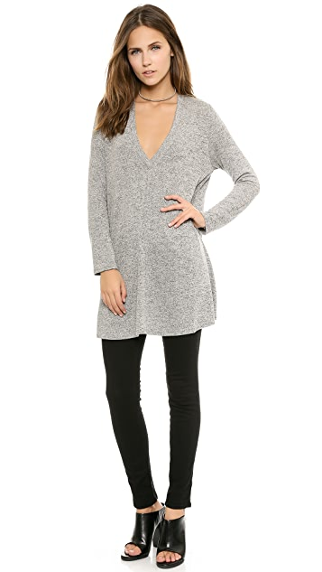 Riller & Fount Kevin Long Sleeved V Neck Tunic