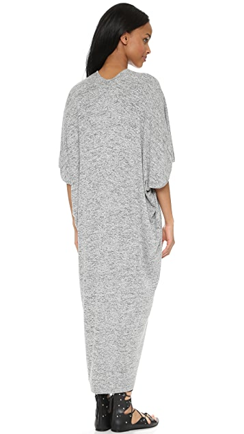 Riller & Fount Luca Caftan Midi Dress