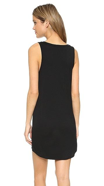 Riller & Fount Suzanne V Neck Tank Dress