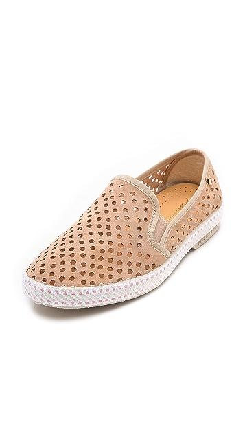 Rivieras Sultan Slip On Perforated Sneakers
