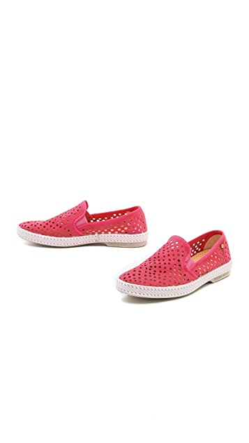 Rivieras Sultan Slip On Perforated Sneakers