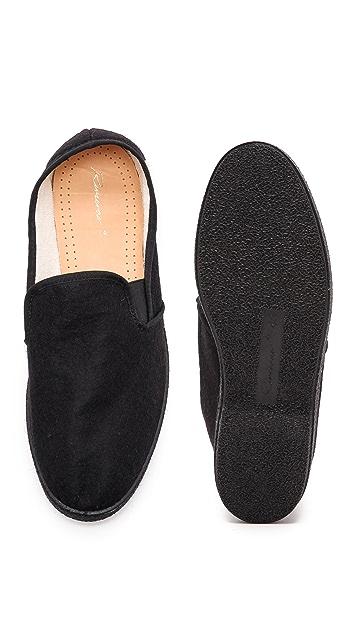 Rivieras Manoir Felt Slip On Shoes