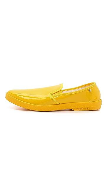 Rivieras Vinyl Slip On Shoes