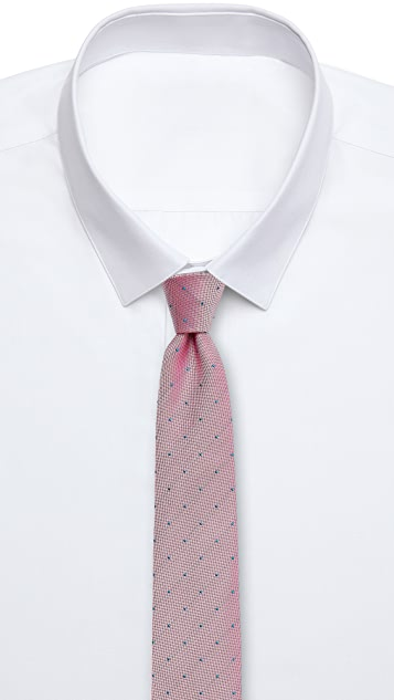 Richard James Tiny Spots Tie
