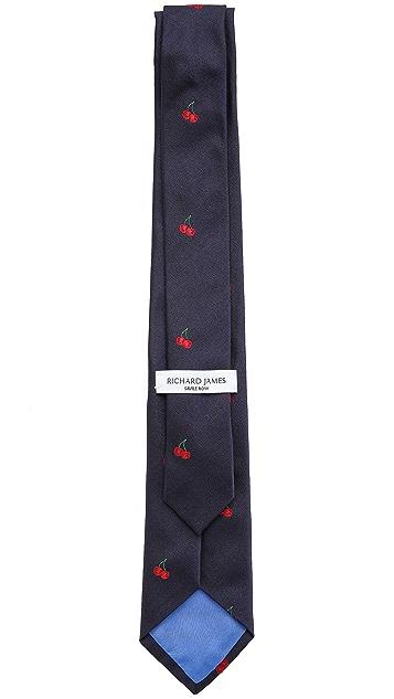 Richard James Cherries Tie