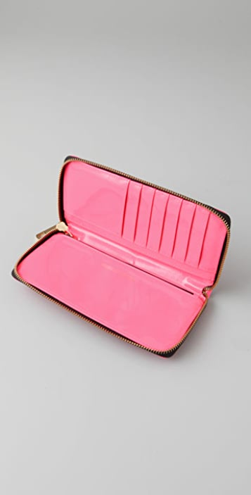 Rebecca Minkoff Neon Nights Large Zip Wallet