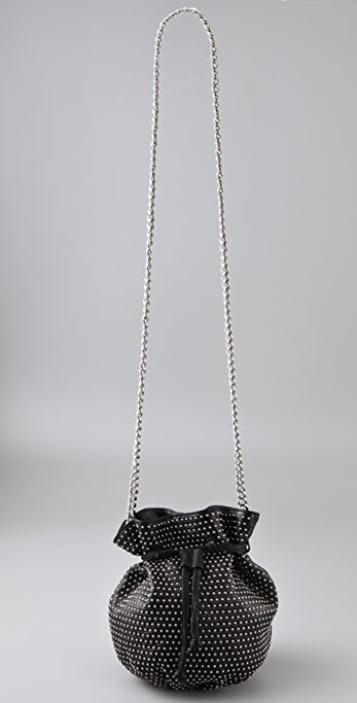Rebecca Minkoff Studded Out Drawstring Mini Bag