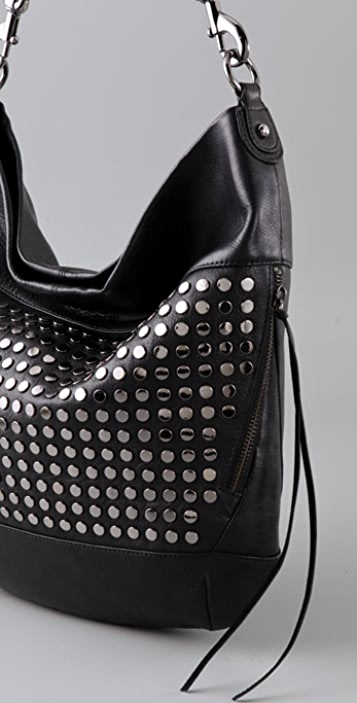 Rebecca Minkoff Heavy Metal True Love Stud Hobo
