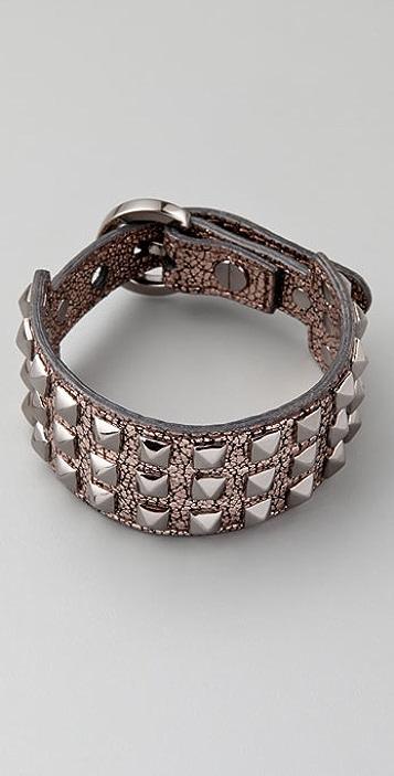 Rebecca Minkoff Pyramid Stud Bracelet