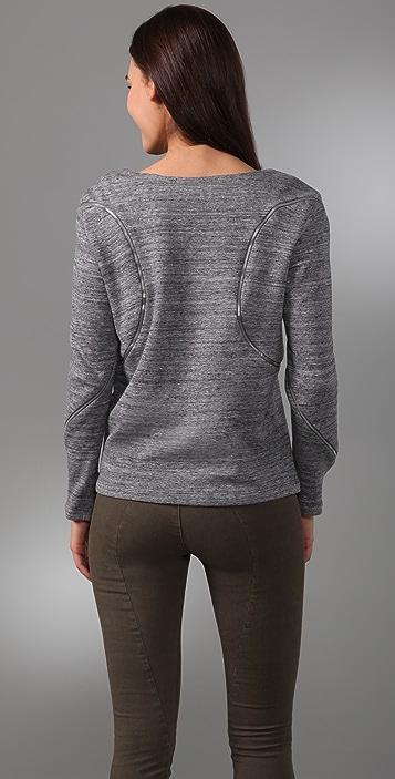 Rebecca Minkoff Victor Zipper Sweatshirt