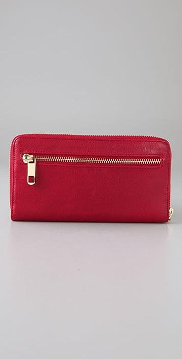 Rebecca Minkoff Shine Large Zip Wallet