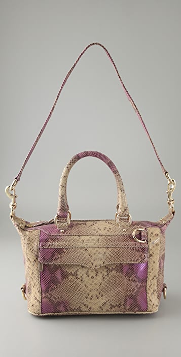 Rebecca Minkoff Iridescent Python Morning After Mini Bag
